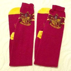 🌸NWOT Harry Potter Gryffindor above knee socks